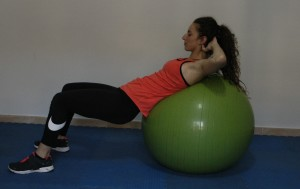 Core Stability 5 Crunch with Fitball 2