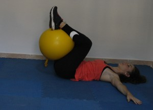 Core Stability 5 Fitball Reverse Crunh 3