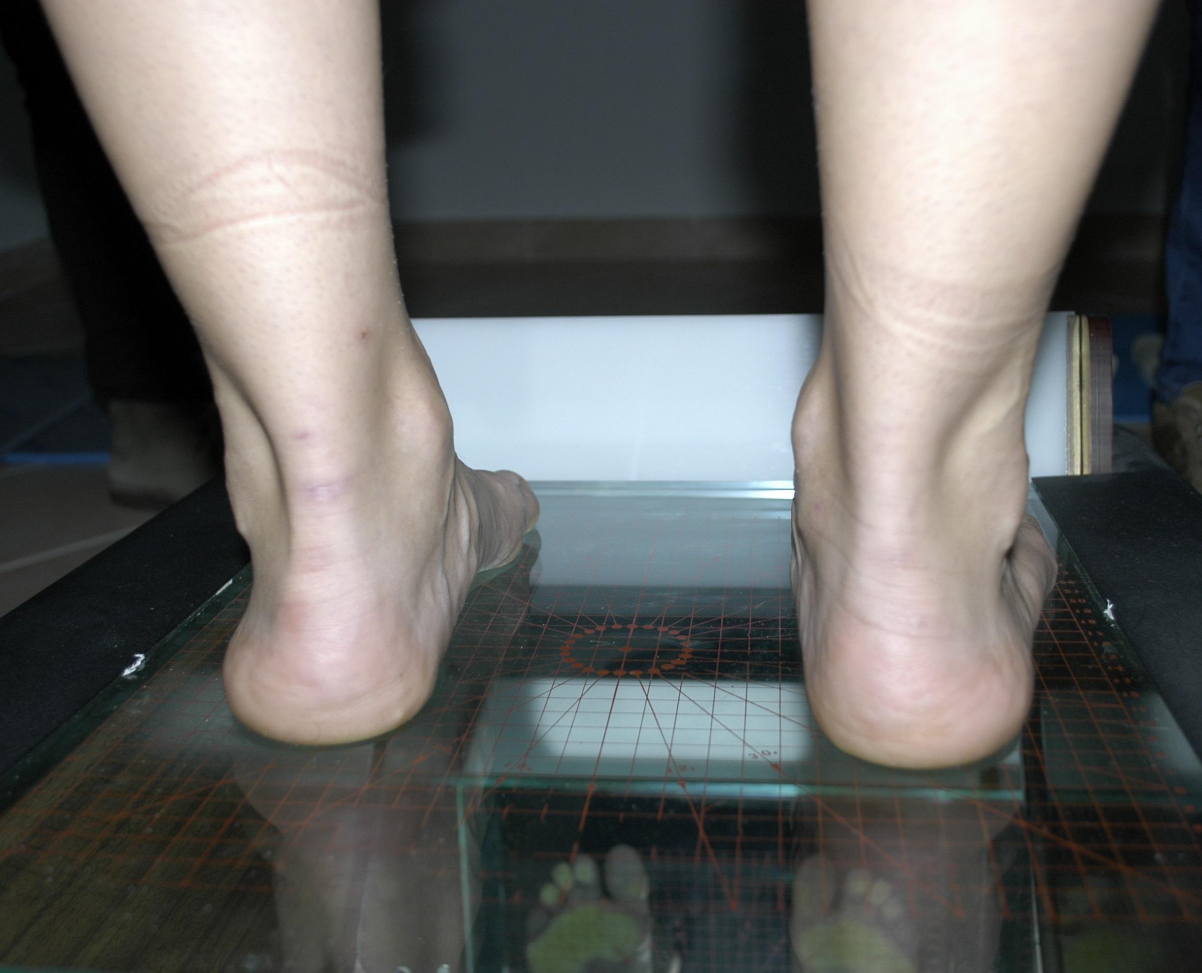 esercizi non portanti per il piede