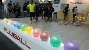 Fluiball al Rimini Wellness 2017