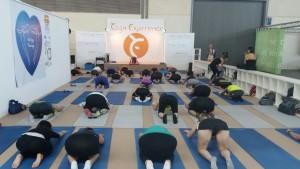 Yoga experience al Rimini Wellness 2017