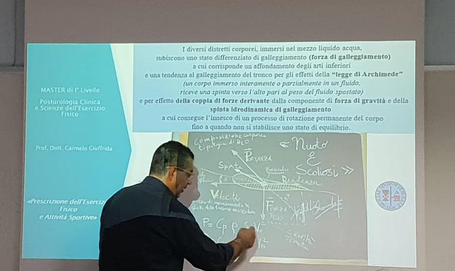 migliori best seller di Amazon-Lezioni del Prof. Carmelo Giuffrida al Master di Posturologia e Scienze dell'Esercizio Fisico all'Università di Catania