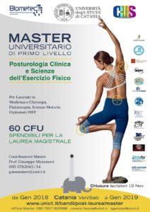 prescrizione di esercizio fisico-Master-Posturologia-Università di Catania-Scienze dell'esercizio fisico-Prof. Carmelo Giuffrida-Catania-1