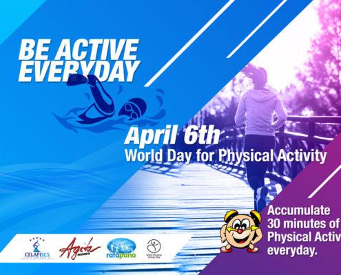 Attività Fisica è salute-Attività fisica-inattività-sedentarietà-fisica-giornata mondiale-salute-benessere-Prof. Carmelo Giuffrida-Catania-World Day for Physical Activity 6 Aprile 2018