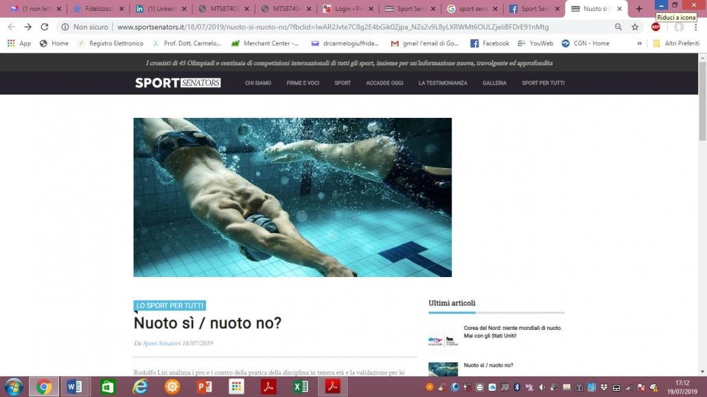 Nuoto-scoliosi-ginnastica correttiva-Prof. Carmelo Giuffrida-Catania
