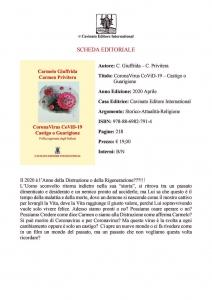 Coronavirus-Covid19-SARSCOV2-Attività Fisica Adattata-Poesia-Arte-Preghiera-Carmelo Giuffrida-Carmen Privitera-scheda editoriale-Catania
