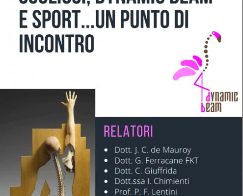 Relazione su Scoliosi, Dynamic Beam e Sport con De Mauroy e Ferracane del Centro Europeo Colonna Vertebrale
