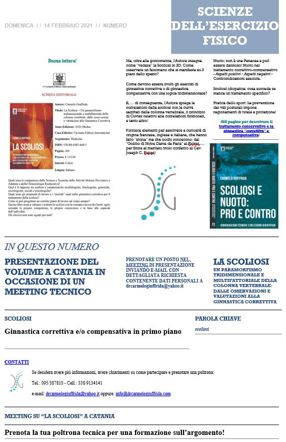 meeting sulla scoliosi a Catania-Studio prof. Carmelo Giuffrida-presentazione libro 3