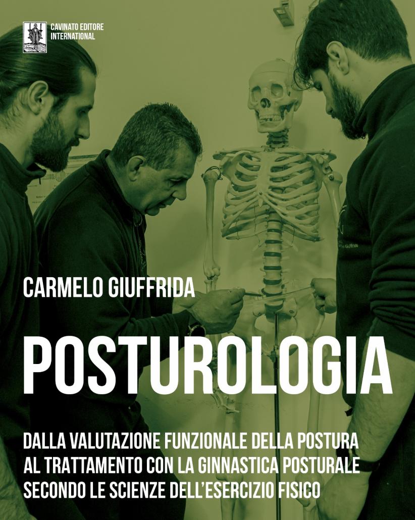 Posturologia-libro del Prof. Carmelo Giuffrida-ginnastica posturale-Copertina